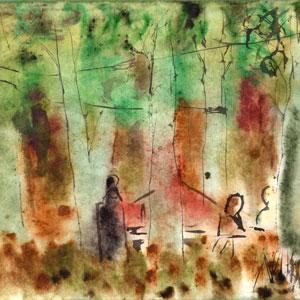 Obra de Perico Pastor per l'exposició 'Cisalla'