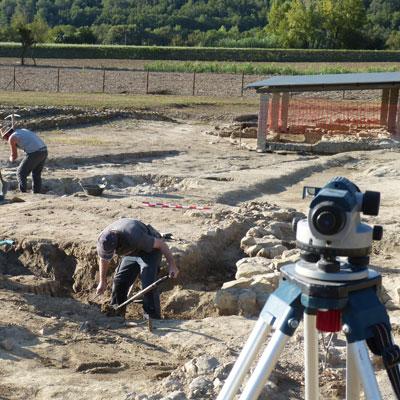 Visita guiada 'Què ens expliquen els arqueòlegs de Vilauba?', Banyoles, 2020