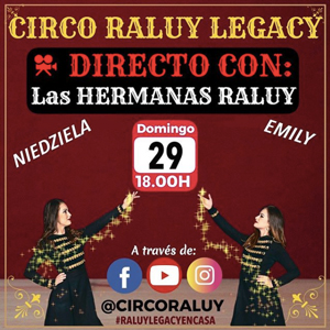 #RaluyLegacyEnCasa, Circ Raluy, Visita guiada