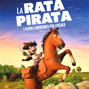 Cinema infantil: 'La rata pirata i altres aventures per créixer'