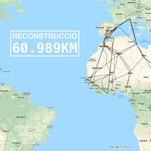 Exposició 'Reconstrucció. 60.989 km' - Arts Santa Mònica