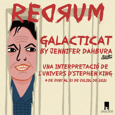 Exposició 'Redrum' de Jennifer Dahbura