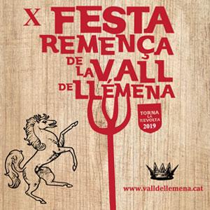 X Festa Remença a Canet d'Adri, 2019