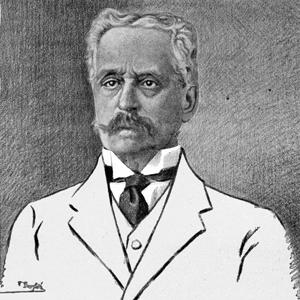 Retrat d'Eduard Toda, pioner en egiptologia i el redescobridor de l'alguerès