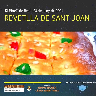 Revetlla de Sant Joan - El Pinell de Brai 2021
