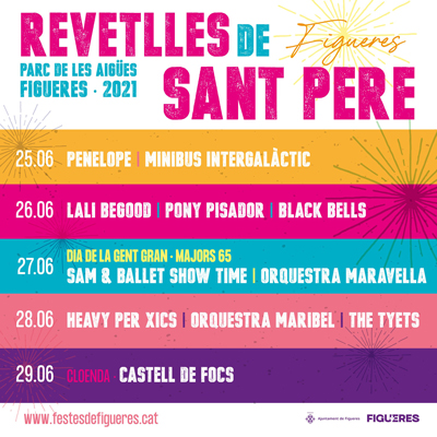Revetlles de Sant Pere - Figueres 2021