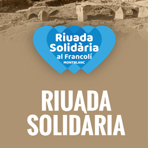 Riuada Solidària a Montblanc, 2019
