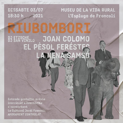 Festival Riubombori, L'Espluga de Francolí, 2021