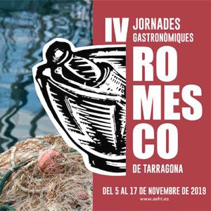 IV Jornades Gastronòmiques del Romesco de Tarragona, 2019