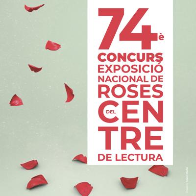 74è Concurs Exposició Nacional de Roses, Centre de Lectura, Reus, 2021