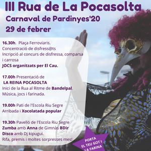 3a edició de la Rua Pocasolta d'Agipa a Pardinyes, 2020
