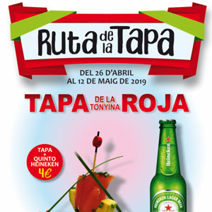Tapa Roja - L'Ametlla de Mar 2019