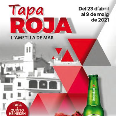 Ruta de tapes 'Tapa Roja' - L'Ametlla de Mar 2021