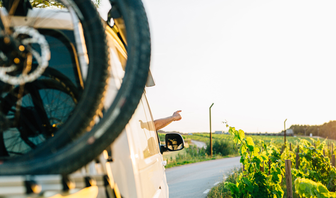 Turisme en furgoneta al Penedès