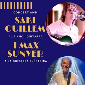 Concert amb Saki Guillem i Max Sunyer - La Pobla de Massaluca 2020
