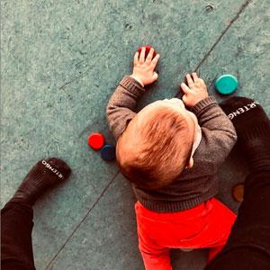 Dansa per a nadons 'S'alcen i reguen' a Lleida, 2019
