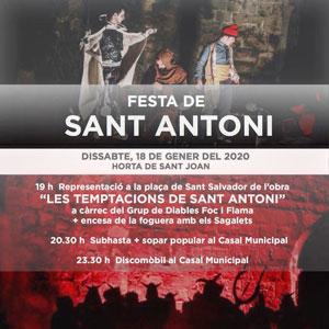 Festa de Sant Antoni - Horta de Sant Joan 2020