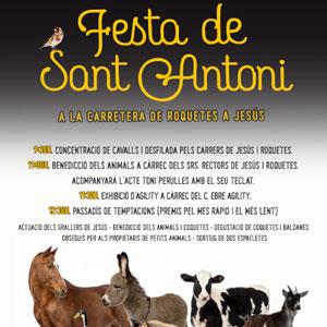 Festa de Sant Antoni - Roquetes i Jesús 2020