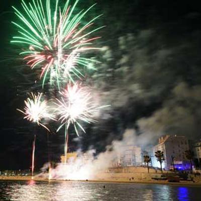 Festa Major de Sant Joan - L'Ampolla Focs artificials