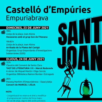 Sant Joan - Castelló d'Empúries 2021