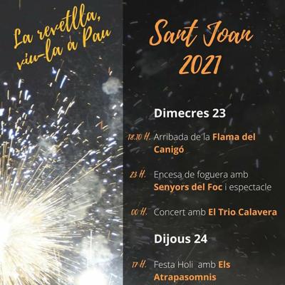 Revetlla de Sant Joan - Pau 2021