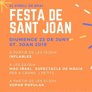 Festa de Sant Joan - El Pinell de Brai 2019