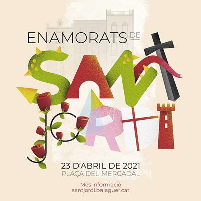 Sant Jordi a Balaguer, 2021