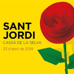 Diada de Sant Jordi a Cassà de la Selva, 2019