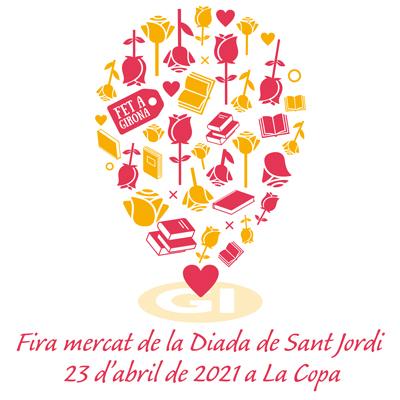 Sant Jordi a Girona, 2021