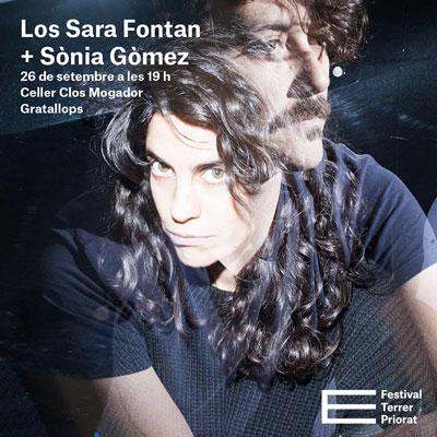 Festival Terrer Priorat, Los Sara Fontán, Sònia Gómez, 2020