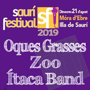 Saurí Festival a Móra d'Ebre, 2019