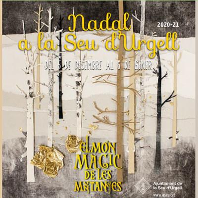 El cartell de les propostes nadalenques de La Seu d'Urgell