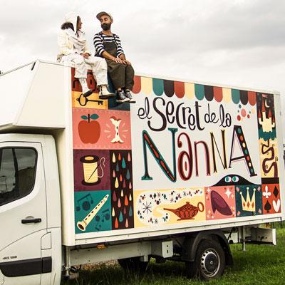 Espectacle 'El secret de la Nanna' de la companyia Anna Roca