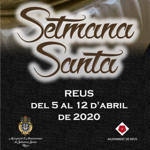 Setmana Santa a Reus, 2020