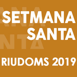 Setmana Santa a Riudoms, 2019