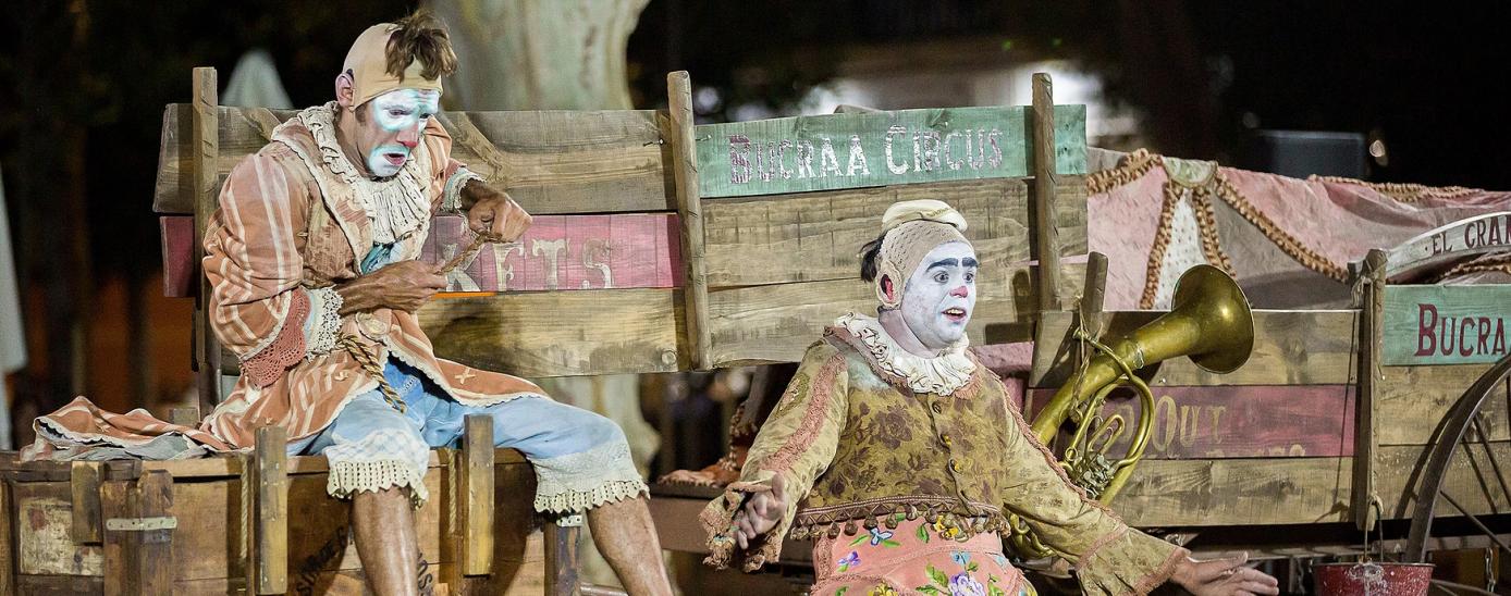 """L'espectacle """"El gran final"""" de la Cia. Bucraá Circus."""