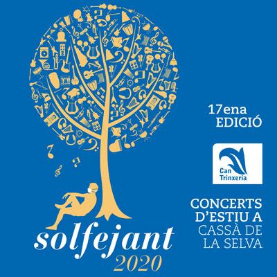 17a edició del Cicle de Concerts Solfejant a Cassà de la Selva, 2020