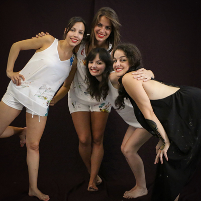 SomtreSonS+A, Núria Albella, Raquel Monforte, Anna Albert i Ana Beltrán