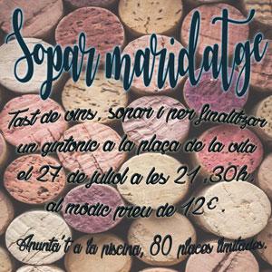Sopar maridatge - La Fatarella 2019