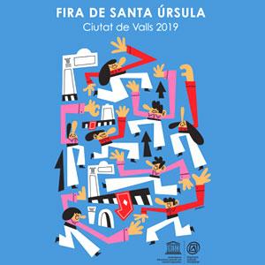 Fira de Santa Úrsula, Valls, 2019