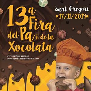 13a edició de la Fira del Pa i la Xocolata de Sant Gregori, 2019