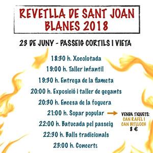 Sant Joan a Blanes, 2019