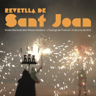 Revetlla de Sant Joan a l'Espluga de Francolí, 2021