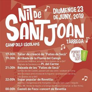 Revetlla de Sant Joan a Tàrrega, 2019