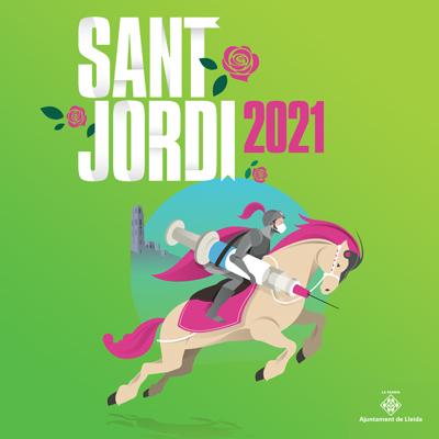 Sant Jordi a Lleida, 2021