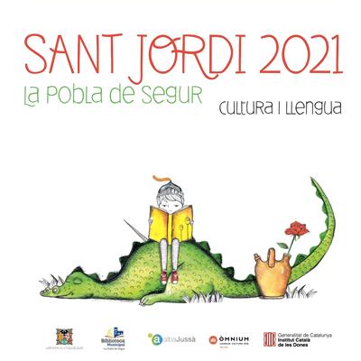 Sant Jordi a la Pobla de Segur, 2021