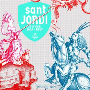 Sant Jordi a Reus, 2019