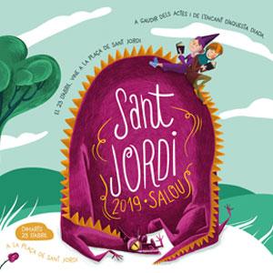 Diada de Sant Jordi a Salou, 2019