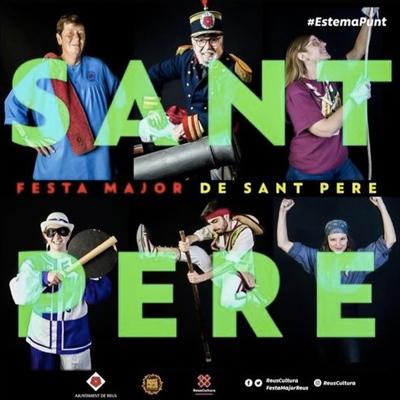 Festa Major de Sant Pere, Reus, 2021