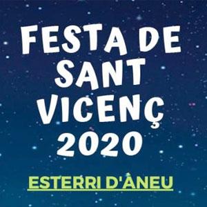Festa de Sant Vicenç a Esterri d'Àneu, 2020
